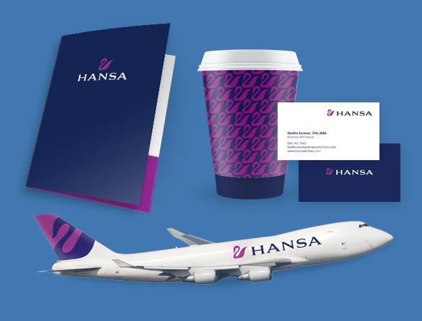 Первым делом самолеты — разработка фирменного стиля авиакомпании и текстовое сопровождение